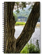 Along Route 104 Spiral Notebook
