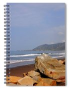 Along The Californian Coast Spiral Notebook