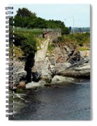 Along The Cliff Walk Trail Spiral Notebook