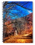 Along The Country Lane Spiral Notebook