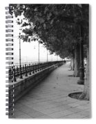 Along The Danube Spiral Notebook