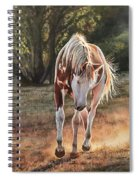 Along The Dusty Trail Spiral Notebook