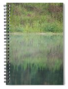 Along The Edge Of The Pond Spiral Notebook
