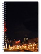 Along The Embarcadero 2 Spiral Notebook