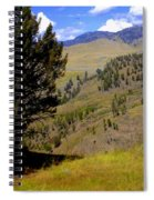 Along The Hell Roaring Creek Trail Spiral Notebook