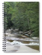 Along The Hiking Trail Spiral Notebook