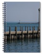 Along The Lakeshore Spiral Notebook