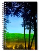 Along The Muddy River Spiral Notebook