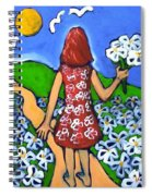 Along The New Path Spiral Notebook