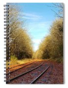 Along The Old Railroad  Spiral Notebook