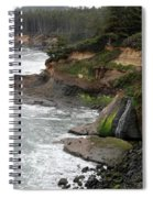 Along The Oregon Coast - 7 Spiral Notebook