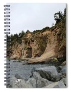 Along The Oregon Coast  Spiral Notebook
