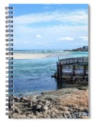 Along The Peaceful Shores  Spiral Notebook