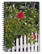 Along The Picket Fence Spiral Notebook