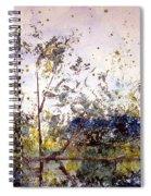 Along The River Bank Spiral Notebook