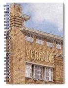 Along The River Zaan Verkade Factory Spiral Notebook