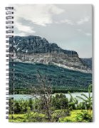Along The Road To Many Glacier 4 Spiral Notebook
