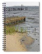 Along The Shore Of Biloxi Bay Spiral Notebook