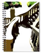 Along The Spiral Stairway Spiral Notebook