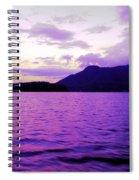 Along The Sunshine Coast Spiral Notebook