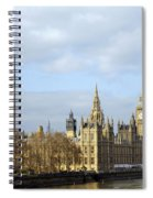 Along The Thames Spiral Notebook