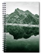 Along The Yen River Spiral Notebook
