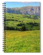Alpe Di Siusi - Dolomiti Spiral Notebook