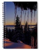 Alpenglow Claws Spiral Notebook