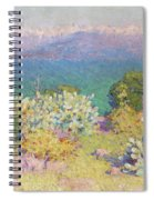 Alpes Maritimes From Antibes Spiral Notebook