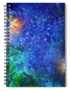 Alpha Centauri Abstract Moods Spiral Notebook