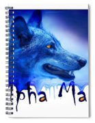 Alpha Male Spiral Notebook
