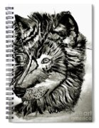Alpha Male - The Wolf Spiral Notebook