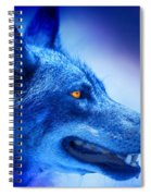 Alpha Wolf Spiral Notebook