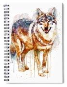Alpha Wolf Spiral Notebook