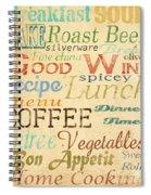 Alphabet Soup-a Spiral Notebook