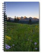 Alpine Dawn Spiral Notebook