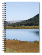 Alpine Lake In The Arapahoe National Forest Spiral Notebook