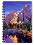 Alpine Lake Mist Spiral Notebook
