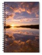 Alpine Sunset Spiral Notebook