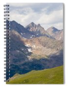 Alpine Tundra And The Colorado Continental Divide Spiral Notebook