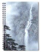 Alpine Waterfall Spiral Notebook