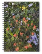 Alpine Wildflowers Hurricane Ridge 4031 Spiral Notebook