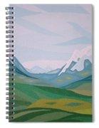 Alps 2 Spiral Notebook