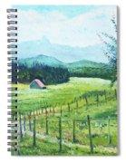 Alps From Geneva Switzerland 2016 Spiral Notebook