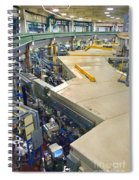 Als Beamlines And Inner Ring Spiral Notebook