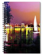 Alster In The Evening Spiral Notebook