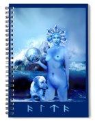 Alta, Roman Goddess Of Water Spiral Notebook