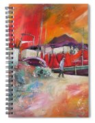 Altea Harbour Spain Spiral Notebook