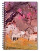 Altea La Vieja In Spain 18 Spiral Notebook