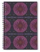 Altered States 1 - T J O D 27 Compilation Tile 9 Spiral Notebook